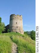 Купить «Наугольная башня. Крепость Копорье», фото № 1846799, снято 10 июля 2010 г. (c) Виктор Карасев / Фотобанк Лори