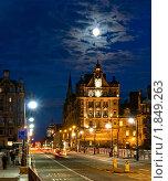 Ночной Эдинбург (2010 год). Редакционное фото, фотограф Борис Иванов / Фотобанк Лори