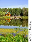Купить «Омск. Ачаирский Крестовый монастырь», фото № 1858059, снято 17 июля 2010 г. (c) Julia Nelson / Фотобанк Лори