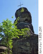 Купить «Гора Церковка, город Белокуриха», фото № 1859291, снято 4 июля 2010 г. (c) Геннадий Соловьев / Фотобанк Лори