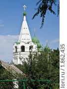 Купить «Колокольня Воскресенского войскового собора в Старочеркасске», фото № 1862435, снято 19 июня 2010 г. (c) Борис Панасюк / Фотобанк Лори