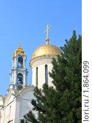 Троицкий собор Троице-Сергиевой лавры (2010 год). Стоковое фото, фотограф juliagam / Фотобанк Лори