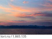 Купить «Солнце зашло», фото № 1865135, снято 21 июля 2010 г. (c) Николай Винокуров / Фотобанк Лори