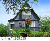 Купить «Дачный домик», эксклюзивное фото № 1865255, снято 10 июня 2010 г. (c) lana1501 / Фотобанк Лори