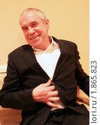 Купить «Сергей Гармаш раздевается», фото № 1865823, снято 17 марта 2010 г. (c) Алена Потапова / Фотобанк Лори