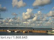 Залив, набережная, яхты (2009 год). Редакционное фото, фотограф Алина / Фотобанк Лори