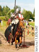 Купить «Выборгский рыцарский турнир», фото № 1876047, снято 31 июля 2010 г. (c) Алексей Ширманов / Фотобанк Лори