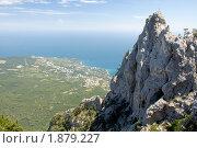 Купить «Гора Ай-Петри», фото № 1879227, снято 23 июля 2010 г. (c) Антон Стариков / Фотобанк Лори