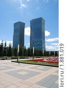 Здания. г. Астана (2010 год). Редакционное фото, фотограф Денис Макатаев / Фотобанк Лори