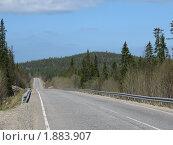 Кольский, дорога на Кандалакшу. Стоковое фото, фотограф Валентин Сурков / Фотобанк Лори