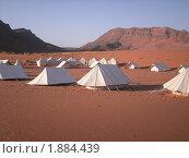 Туристский палаточный лагерь в песках Марокко (2008 год). Стоковое фото, фотограф Marina Butirskaya / Фотобанк Лори