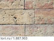 Купить «Пудостский камень. Каменная кладка», эксклюзивное фото № 1887903, снято 13 июля 2010 г. (c) Александр Щепин / Фотобанк Лори