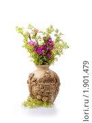 Красивый букет полевых цветов. Стоковое фото, фотограф Елена Блохина / Фотобанк Лори
