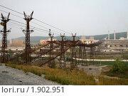 Купить «Вагонеточная линия», фото № 1902951, снято 13 августа 2010 г. (c) Art Konovalov / Фотобанк Лори