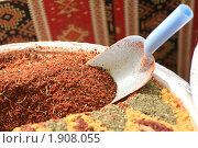 Купить «Специи. Молотый перец чили», фото № 1908055, снято 26 июня 2019 г. (c) Шабанов Дмитрий / Фотобанк Лори