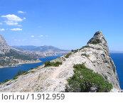 Крым, гора Коба Кая (2008 год). Стоковое фото, фотограф Вишнякова Татьяна / Фотобанк Лори