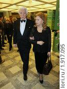 Олег Стриженов с женой (2010 год). Редакционное фото, фотограф Вадим Тараканов / Фотобанк Лори