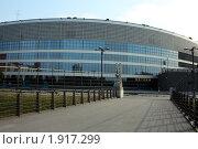 Купить «Ледовый дворец в Санкт-Петербурге», фото № 1917299, снято 15 августа 2010 г. (c) Корчагина Полина / Фотобанк Лори