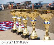 Призовые кубки, фото № 1918987, снято 7 августа 2010 г. (c) Евгений Ткачёв / Фотобанк Лори