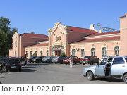 Купить «Котельниково, Железнодорожный вокзал», фото № 1922071, снято 22 августа 2010 г. (c) Александр Тихонов / Фотобанк Лори