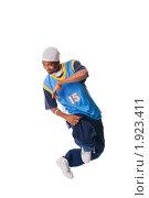 Купить «Темнокожий хип-хоп исполнитель», фото № 1923411, снято 12 сентября 2008 г. (c) Никита Буйда / Фотобанк Лори