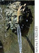 Купить «Петергоф. Львиный каскад. Маскарон», фото № 1923631, снято 22 февраля 2009 г. (c) Корчагина Полина / Фотобанк Лори