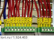 Купить «Промышленное электрооборудование. Соединения», фото № 1924403, снято 4 июня 2007 г. (c) Юрий Кобзев / Фотобанк Лори