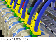 Купить «Промышленное электрооборудование. Соединения», фото № 1924407, снято 4 июня 2007 г. (c) Юрий Кобзев / Фотобанк Лори