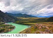 Купить «Алтайские горы. Река Катунь», фото № 1926515, снято 16 августа 2010 г. (c) Ильин Сергей / Фотобанк Лори