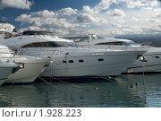 Яхты (2009 год). Редакционное фото, фотограф Игорь Штро / Фотобанк Лори
