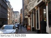 Улица в Лондоне (2010 год). Редакционное фото, фотограф Лимонад / Фотобанк Лори