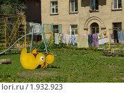 Купить «Старый дворик», фото № 1932923, снято 4 июня 2010 г. (c) Наталия Ефимова / Фотобанк Лори