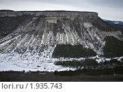 Зимний горный Крым (2010 год). Стоковое фото, фотограф Иван Котов / Фотобанк Лори