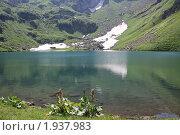 Озеро Мзы. Абхазия. 2000 метров над уровнем моря. Стоковое фото, фотограф Дмитрий К / Фотобанк Лори