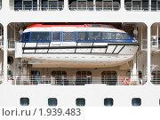 Купить «Спасательный бот лайнера Azamara Jorney», эксклюзивное фото № 1939483, снято 11 августа 2010 г. (c) Александр Щепин / Фотобанк Лори