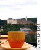 Купить «Оранжевая чашка», фото № 1941951, снято 25 июля 2010 г. (c) Троицкая Алиса / Фотобанк Лори