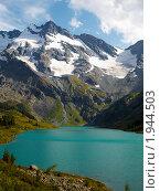 Купить «Республика Алтай. Озеро Поперечное», фото № 1944503, снято 22 августа 2010 г. (c) Andrey M / Фотобанк Лори