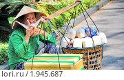 Продавщица кокосов (2010 год). Редакционное фото, фотограф igor faustov / Фотобанк Лори