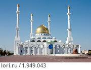 Мечеть. Астана, Казахстан. (2010 год). Стоковое фото, фотограф Олыкайнен Наталья / Фотобанк Лори