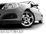 Купить «Автомобиль на белом фоне», иллюстрация № 1961327 (c) Антон Балаж / Фотобанк Лори