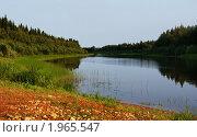Река Кимжа в Мезенском районе Архангельской области. Стоковое фото, фотограф светлана шевнина / Фотобанк Лори