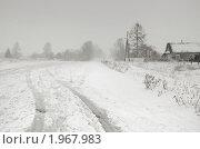 Купить «Зима в деревне», фото № 1967983, снято 27 декабря 2009 г. (c) Кондорский Дмитрий / Фотобанк Лори