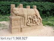 Выставка песчаных фигур (2009 год). Редакционное фото, фотограф Дарья Фролова / Фотобанк Лори