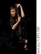 Купить «Девушка с гитарой», фото № 1971747, снято 11 сентября 2010 г. (c) Egorius / Фотобанк Лори