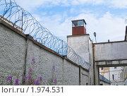 Купить «Старая советская тюрьма в Таллине», фото № 1974531, снято 18 июля 2010 г. (c) Игорь Соколов / Фотобанк Лори