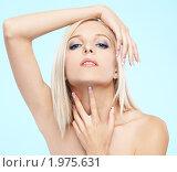 Купить «Портрет красивой блондинки», фото № 1975631, снято 5 августа 2010 г. (c) Serg Zastavkin / Фотобанк Лори