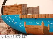 Разукрашенная лодка (2010 год). Стоковое фото, фотограф Дарья Фролова / Фотобанк Лори
