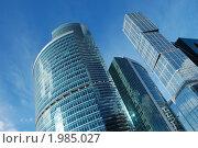 """Купить «Международный бизнес-центр """"Москва-Сити""""», эксклюзивное фото № 1985027, снято 19 сентября 2010 г. (c) lana1501 / Фотобанк Лори"""