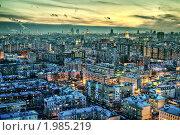 Купить «Москва вечером. Март 2010», фото № 1985219, снято 24 марта 2010 г. (c) Kremchik / Фотобанк Лори