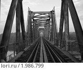 Старый мост. Стоковое фото, фотограф Юлия Киреева / Фотобанк Лори